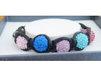 Equilibrium Shamballa Bracelet, boxed and unused.