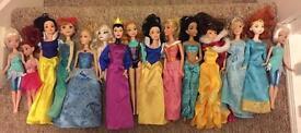 15 Disney princess dolls