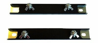 Two (2) Magnetic License Plate Holder, Magnet, Tag, Test Drive, Dealer