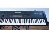 Roland XP-80 Synthesiser Music Workstation 64-voice professional, made in Japan, price £1000
