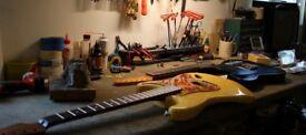 Guitar same day repairs and set up