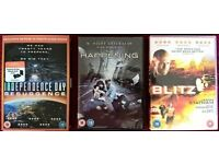 Independence Day Resurgence, The Happening and Blitz DVDs - all 3 for £5