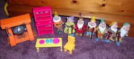 Disney Seven Dwarves Figures and Playset