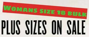 Women's plus size bulk - size 18 , 35 items some new with tags Warrane Clarence Area Preview