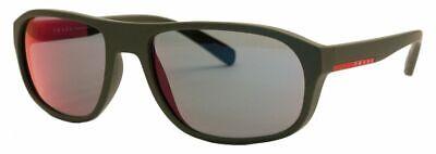 Prada Linea Rossa Damen Herren Sonnenbrille PS01RS UBW-9Q1 58mm matt rubber H