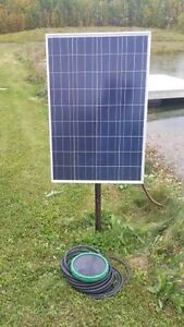 Solar Aeration for ponds or Dugouts