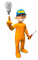 MASTER ELECTRICIAN  AVAILABLE - PAY WITH CREDIT CARD