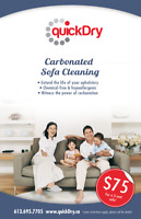 Make it New again UPHOLSTERY CLEANING