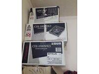 2x Pioneer cdj 1000 & pioneer DJM600 mixer