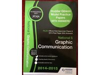 national 5 graphic communication practice paper book