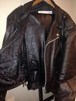 Mens Leather Riding Jacket and Pants