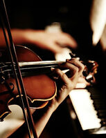 Talented Violin/Fiddle and Piano Duo Available for Events!
