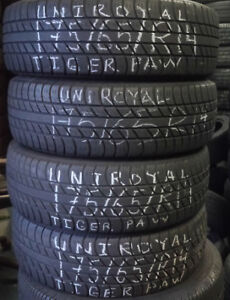 SETS OF 14 INCH  TIRES