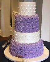 AFFORDABLE wedding cakes, dessert tables and cakes!  We Deliver!