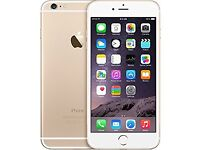 Gold IPhone 6 Plus immaculate