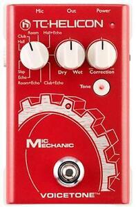 Pédale FX pour voix TC Helicon Mic Mechanic