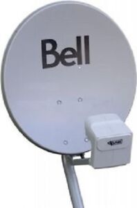 ►Bell ExpressVU Dish HD PVR + Quad 4x Receiver Port LNB + Switch