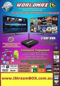 Worldmax IPTV box ,warranty tax invoice ,Authorised dealer Greenacre Bankstown Area Preview