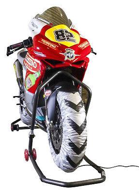 Biketek Pro Tyres Wamers To Fit Kawasaki Er6 Minitwin Race Track