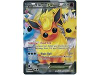 Flareon EX RC28/RC32 Generations Radiant Collection, Full Art Holo Pokemon Card