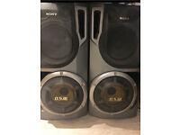 2 x Sony Speakers