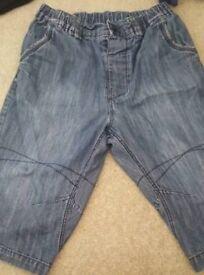 Next boys 3/4 shorts