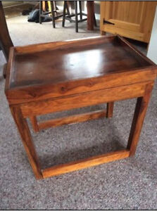 table appoint en bois style moderne