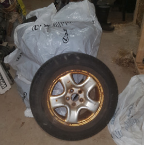 Set of 4 All Season Tires and Rims 235/60R16