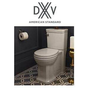NEW* 2PC DXV ELONGATED TOILET - 124383570 - AMERICAN STANDARD FITZGERALD