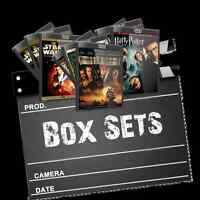 boxsets Save 10 percent over $50 and 15 Percent over $100