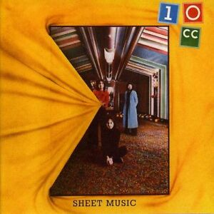 10Cc - Sheet Music CD NEW