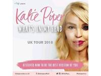 """2x Tickets """"Katie Piper: what's in my head"""""""