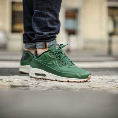 uuvpe Nike Air Max 90 VT QS Vac Tech Blue or Green Pack Running Shoes