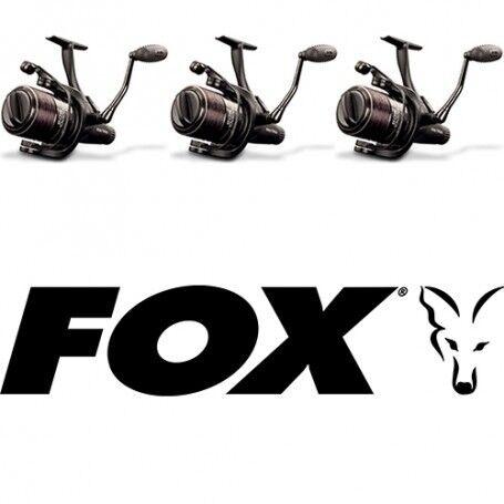 X3 - FOX EOS 10000 Freespool Reel Bran New in Box