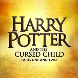 SATURDAY 14TH July Harry Potter and the cursed child Tickets - FRONT ROW