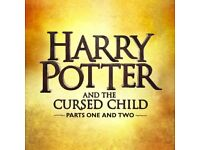 ULTIMATE CHRISTMAS GIFT - 2/4/6 HARRY POTTER & THE CURSED CHILD PARTS 1 & 2 - SATURDAY 9th DECEMBER