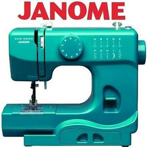 NEW JANOME PORTABLE SEWING MACHINE MARINE MAGIC 109937306