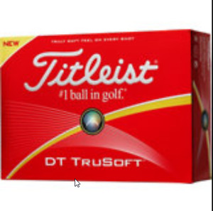 dozen Titleist golf balls