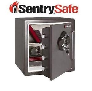 NEW* SENTRYSAFE COMBINATION SAFE SFW123DSB 220626811 1.23 CU. FT SECURITY PROTECTION