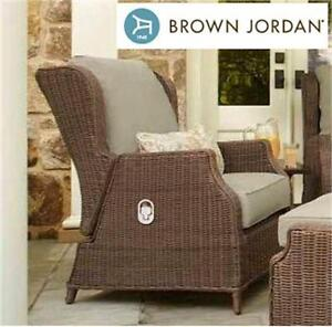NEW BROWN JORDAN PATIO LOUNGE CHAIR Vineyard Patio Motion Lounge Chair PATIO FURNITURE Outdoors