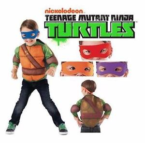 NEW NINJA TURTLES SET KID'S 4-6 HALLOWEEN COSTUME CLOTHING CHILDREN BOYS GIRLS UNISEX PLAYTIME  83382153