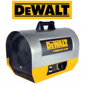 BRAND NEW DEWALT FORCED AIR ELECTRIC HEATER $1420 RETAIL