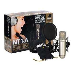 RODE NT1-A Condenser Microphone Kit