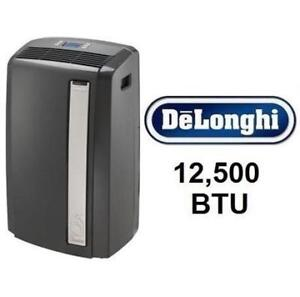 USED* DELONGHI AIR CONDITIONER PACAN125HPEKC 200122937 12,500 BTU Portable AC 12500BTU