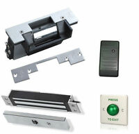 Door Card Access Control System CCTV Security Camera