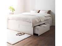 Brimes Storage Bed for sale Size: DOUBLE with Memory foam Mattress