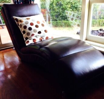 Genuine leather chaises Dalkeith Nedlands Area Preview