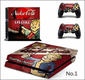 FALLOUT 4 SKIN STICKERS DECAL FOR PS4
