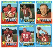 1971 Topps Football Set