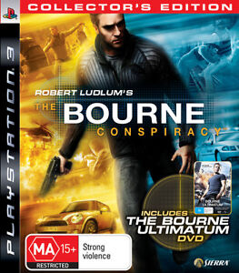 The Bourne Conspiracy: Collector's Edition Sony PlayStation 3 PS3 Brand New